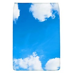 Sky Clouds Blue White Weather Air Flap Covers (L)
