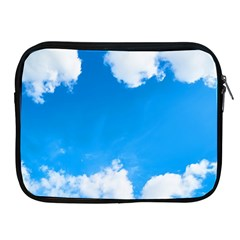 Sky Clouds Blue White Weather Air Apple iPad 2/3/4 Zipper Cases