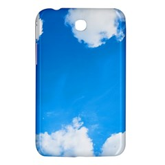 Sky Clouds Blue White Weather Air Samsung Galaxy Tab 3 (7 ) P3200 Hardshell Case