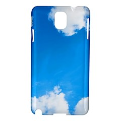 Sky Clouds Blue White Weather Air Samsung Galaxy Note 3 N9005 Hardshell Case