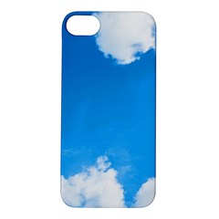 Sky Clouds Blue White Weather Air Apple iPhone 5S/ SE Hardshell Case