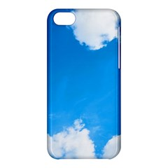 Sky Clouds Blue White Weather Air Apple Iphone 5c Hardshell Case