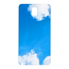 Sky Clouds Blue White Weather Air Samsung Galaxy Note 3 N9005 Hardshell Back Case