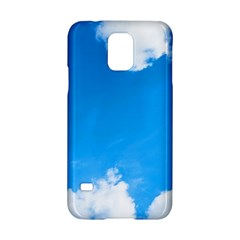 Sky Clouds Blue White Weather Air Samsung Galaxy S5 Hardshell Case