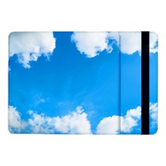 Sky Clouds Blue White Weather Air Samsung Galaxy Tab Pro 10.1  Flip Case