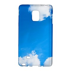 Sky Clouds Blue White Weather Air Galaxy Note Edge