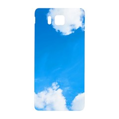 Sky Clouds Blue White Weather Air Samsung Galaxy Alpha Hardshell Back Case