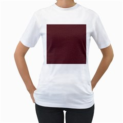 Seamless Texture Tileable Book Women s T Shirt (white) (two Sided)