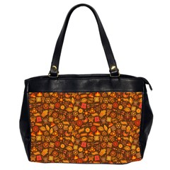 Pattern Background Ethnic Tribal Office Handbags (2 Sides)
