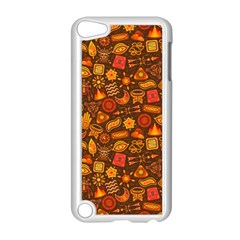 Pattern Background Ethnic Tribal Apple iPod Touch 5 Case (White)
