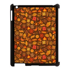 Pattern Background Ethnic Tribal Apple iPad 3/4 Case (Black)