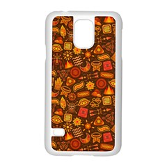 Pattern Background Ethnic Tribal Samsung Galaxy S5 Case (White)