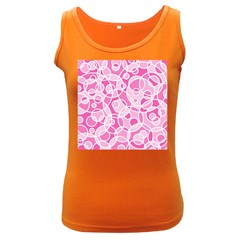 Pattern Women s Dark Tank Top