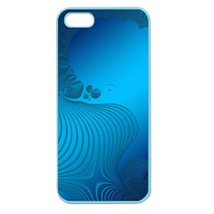 Fractals Lines Wave Pattern Apple Seamless iPhone 5 Case (Color)