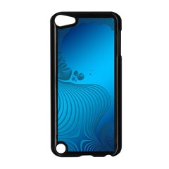 Fractals Lines Wave Pattern Apple iPod Touch 5 Case (Black)