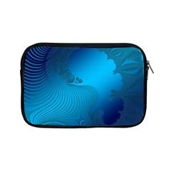 Fractals Lines Wave Pattern Apple iPad Mini Zipper Cases