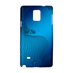 Fractals Lines Wave Pattern Samsung Galaxy Note 4 Hardshell Case