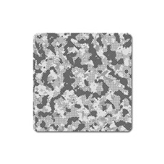 Camouflage Patterns  Square Magnet