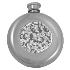 Camouflage Patterns  Round Hip Flask (5 oz)
