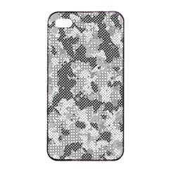 Camouflage Patterns  Apple iPhone 4/4s Seamless Case (Black)