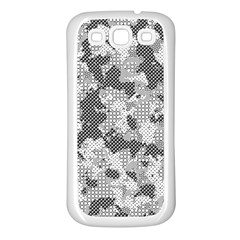 Camouflage Patterns  Samsung Galaxy S3 Back Case (White)
