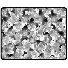 Camouflage Patterns  Double Sided Fleece Blanket (medium)