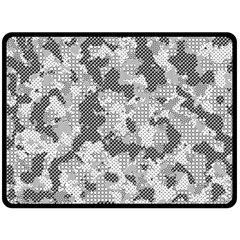 Camouflage Patterns  Double Sided Fleece Blanket (large)