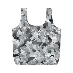 Camouflage Patterns  Full Print Recycle Bags (M)