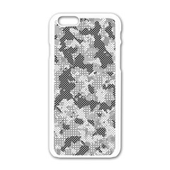 Camouflage Patterns  Apple iPhone 6/6S White Enamel Case