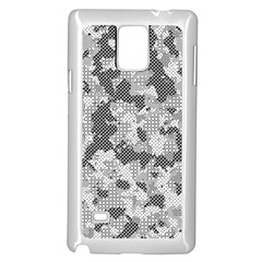 Camouflage Patterns  Samsung Galaxy Note 4 Case (white)