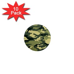 Camouflage Camo Pattern 1  Mini Magnet (10 pack)