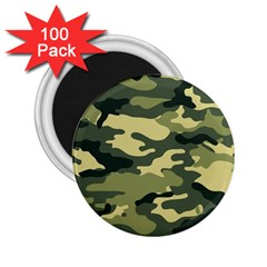 Camouflage Camo Pattern 2 25  Magnets (100 Pack)