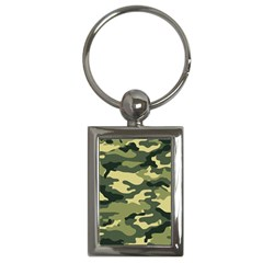 Camouflage Camo Pattern Key Chains (rectangle)
