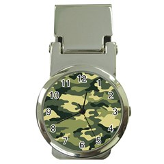 Camouflage Camo Pattern Money Clip Watches