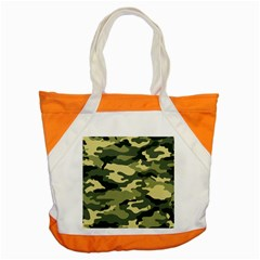 Camouflage Camo Pattern Accent Tote Bag