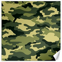Camouflage Camo Pattern Canvas 20  x 20