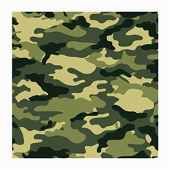 Camouflage Camo Pattern Medium Glasses Cloth (2-Side)