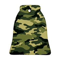 Camouflage Camo Pattern Bell Ornament (Two Sides)
