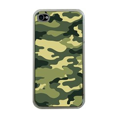 Camouflage Camo Pattern Apple iPhone 4 Case (Clear)