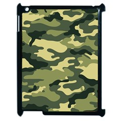 Camouflage Camo Pattern Apple iPad 2 Case (Black)