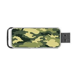 Camouflage Camo Pattern Portable Usb Flash (one Side)