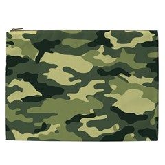 Camouflage Camo Pattern Cosmetic Bag (XXL)