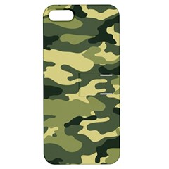 Camouflage Camo Pattern Apple iPhone 5 Hardshell Case with Stand