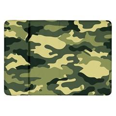 Camouflage Camo Pattern Samsung Galaxy Tab 8.9  P7300 Flip Case