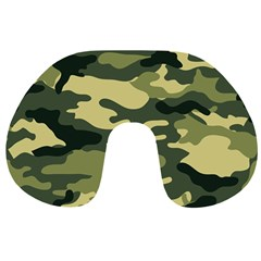 Camouflage Camo Pattern Travel Neck Pillows