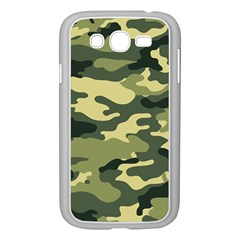 Camouflage Camo Pattern Samsung Galaxy Grand DUOS I9082 Case (White)