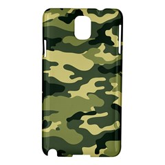 Camouflage Camo Pattern Samsung Galaxy Note 3 N9005 Hardshell Case