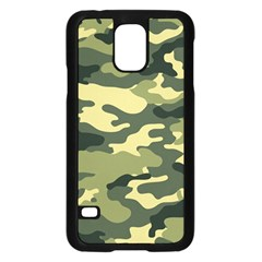 Camouflage Camo Pattern Samsung Galaxy S5 Case (Black)