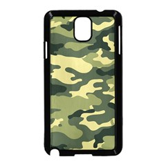Camouflage Camo Pattern Samsung Galaxy Note 3 Neo Hardshell Case (Black)