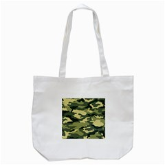 Camouflage Camo Pattern Tote Bag (White)